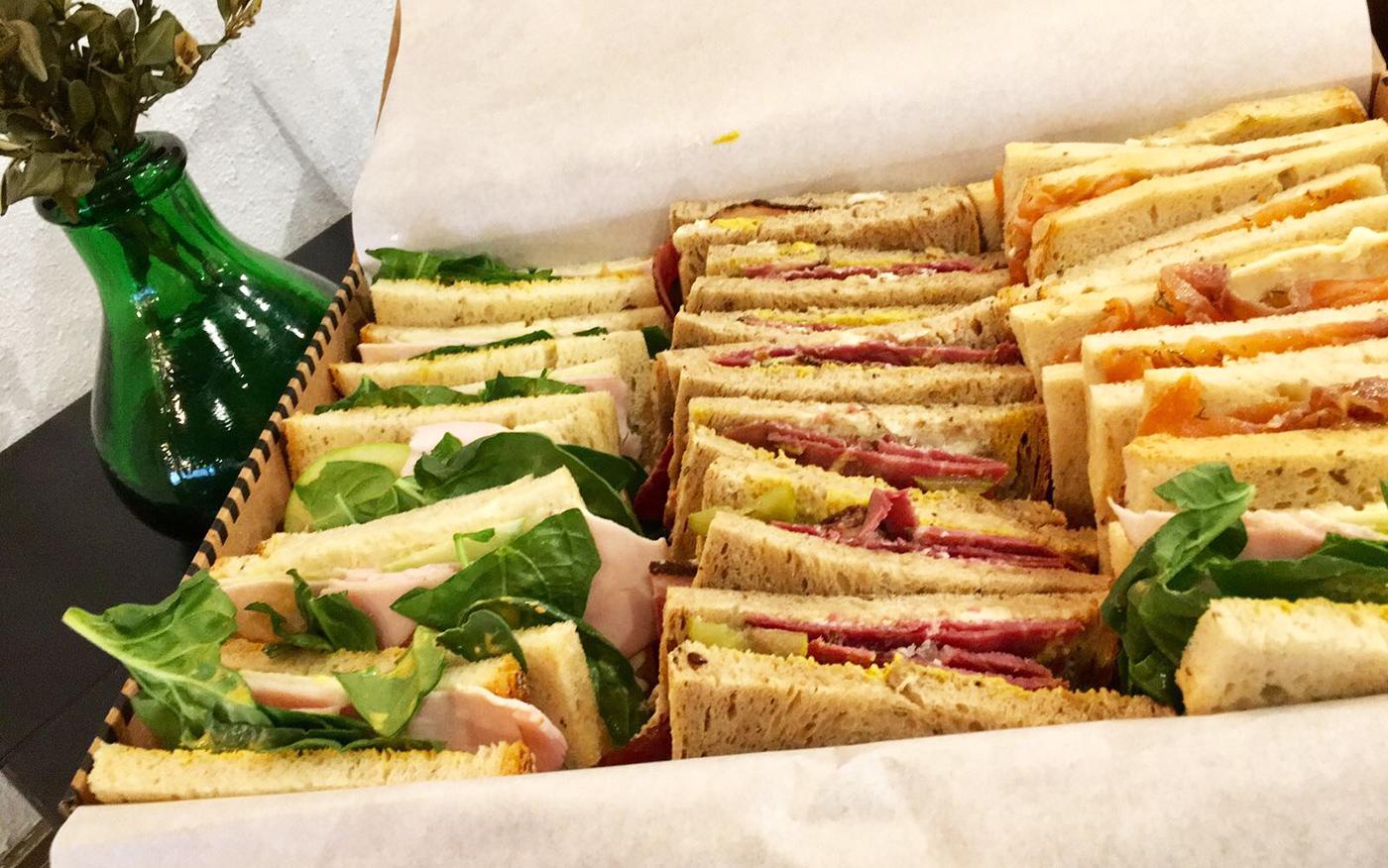 Sandwich para llevar saludable
